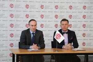 LFF, LSU ir naujai įsteigtas sporto medicinos centras sudarė partnerystės sutartį