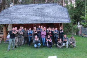 Gamtos mylėtojai dalyvavo paukščių stebėjimo maratone