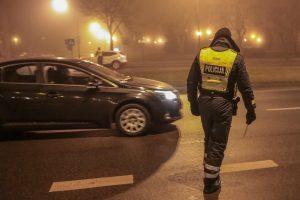 Policijos reidai drausmina vairuotojus