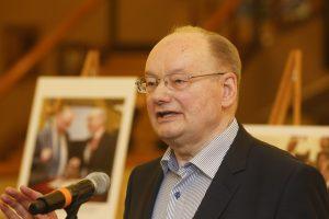 Ilgametis Seimo narys Č. Juršėnas švenčia 80-ąjį jubiliejų