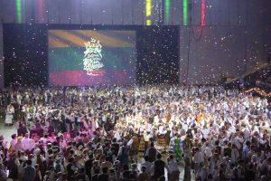 Baltimorėje praūžė jubiliejinė lietuvių šokių šventė