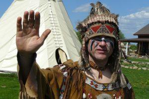 Viešnagė pas indėnus – ypatingas nuotykis