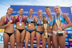 Paplūdimio tinklinio turnyre - bronzinis I. Dumbauskaitės ir M. Povilaitytės triumfas
