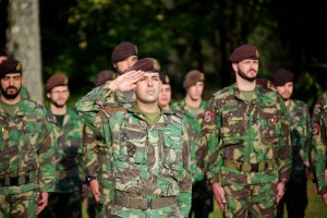 Misiją Lietuvoje baigia Portugalijos kariai