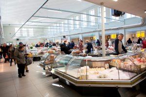 Kalvarijų turguje – nauji paviljonai