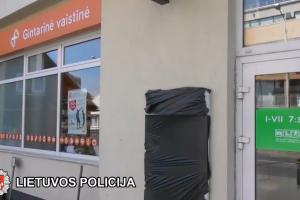 Rusas ir moldavas Vilniuje norėjo apvogti bankomatą