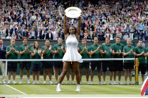 S. Williams septintą kartą triumfavo Vimbldono teniso turnyre