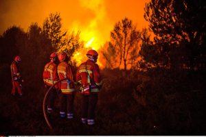 Pragaras Prancūzijoje: dėl gaisro teko evakuoti 3 000 poilsiautojų