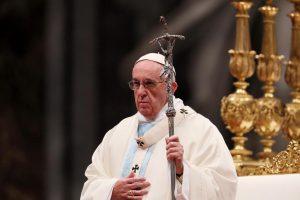 Popiežius: 2017-ieji bus geri, jei žmonės darys gera