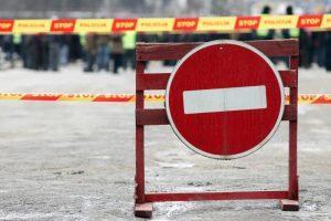 Dėl planuotų darbų sostinės gatvėse bus laikinų eismo pakeitimų
