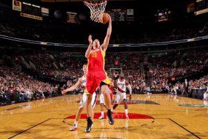 D. Motiejūnas į NBA lygos čempionų krepšį įmetė vienuolika taškų