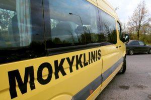 Klaipėdai skyrė geltonąjį autobusiuką