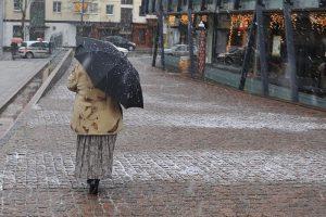 Sinoptikai nedžiugina: savaitės pradžia – su krituliais