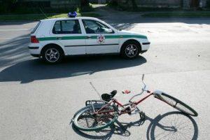 Šalčininkų rajone žuvo dviratininkas