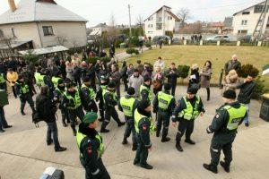 Policija: klykti pradėjo A.Skučienė, mergaitė išsigando
