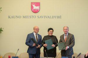 Kaune pasirašyti susitarimai skatins susidomėjimą mokslu