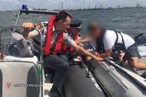 Pažeidėjų netrūksta: laivavedžiai laivus valdė apsvaigę nuo alkoholio