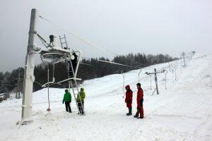 Nepalankūs orai trukdo įsilieti į žiemos sportą