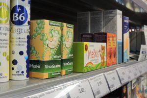 Degalinėse pradėta prekiauti vaistinėmis prekėmis