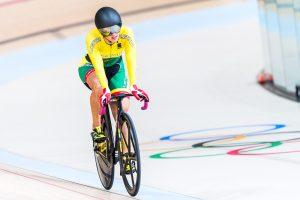 S. Krupeckaitė olimpiados dviračių treko sprinto rungtyje liko septinta