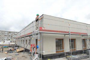 Sostinės mokyklose ir darželiuose dar pluša statybininkai