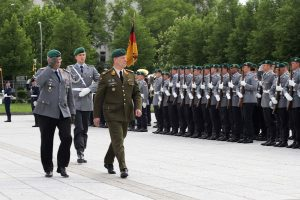 Lietuvos kariams vis dažniau prireikia vokiečių kalbos