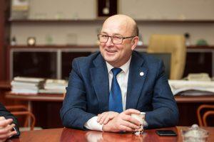 V. Matijošaitis atsakė, ar dalyvaus prezidento rinkimuose