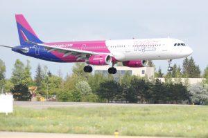 """""""Wizz Air"""" paskelbė 2017 m. vasaros skrydžių tvarkaraštį"""