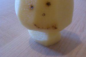 Net bulvės šypsosi! (foto)