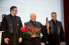 Naujasis KTU garbės daktaras: Lietuva turi didelį potencialą