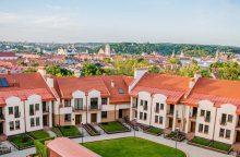 Vilniaus senamiestyje rado vietos dar 4 naujiems daugiabučiams