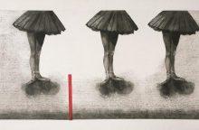Grafikės N. Šaltenytės parodoje – gyvenimas sutrikdytu ritmu
