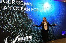 """KU doktorantė dalyvavo """"Jaunųjų vandenyno lyderių susitikime"""" ir """"OurOcean 2017"""""""