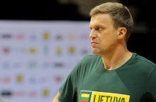 D. Adomaitis: norisi matyti pasikeitusį krepšinio rinktinės mentalitetą