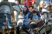 Pabėgėlių dienos proga – piknikas Prezidentūros kiemelyje
