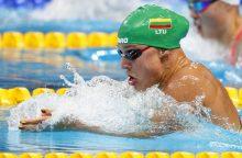Į plaukimo varžybų finalus Slovakijoje pateko keturi lietuviai