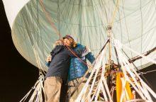 Ruso kelionė aplink Žemę oro balionu jau įpusėjo