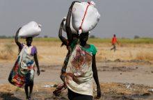 Pietų Sudane prasidėjo badas: alksta beveik 5 mln. gyventojų