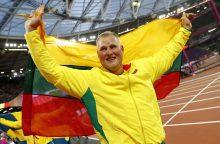 Lengvosios atletikos agentė: A. Gudžius dar šiemet gali mesti 70 metrų