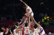 Rusų spurtą atrėmę ispanai iškovojo Europos čempionato bronzą