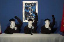 Baskų separatistų grupuotė atsiprašė dėl padarytos žalos