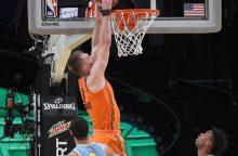 D. Sabonis NBA Kylančių Žvaigždžių rungtynėse pelnė 13 taškų
