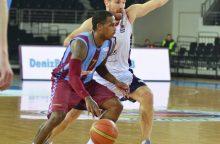 Ispanijos krepšinio klubui M. Gecevičius pelnė dvylika taškų