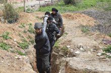 Rusija sako susitarusi su sirų sukilėliais dėl saugumo zonos mechanizmo