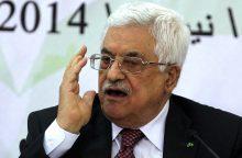 Palestiniečių prezidentas atsidūrė ligoninėje