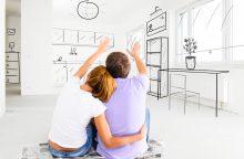 Jaunų šeimų būsto programai regionuose – 10 mln. eurų
