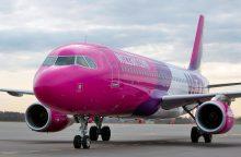 """""""Wizz Air"""" atsisako papildomo mokesčio dideliam rankiniam bagažui"""
