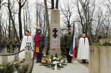 Pagerbti kovoję ir žuvę Klaipėdos sukilimo dalyviai