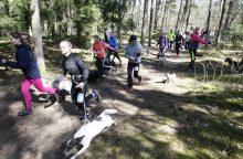 Šuns diena Klaipėdoje paminėta bėgimu su augintiniais