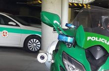 Policija ruošia modernią staigmeną eismo dalyviams